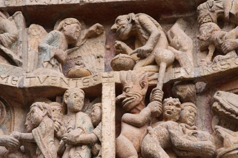 Conques Cathedral Tympanum 2010